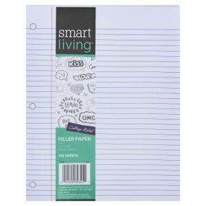 Smart Living Filler Paper College Ruled