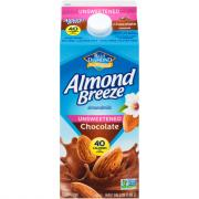 Blue Diamond Almond Breeze Unsweetened Chocolate Almond Milk