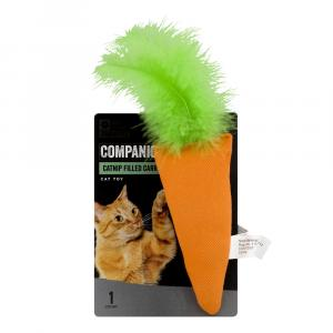 Companion Catnip Filled Carrot Cat Toy