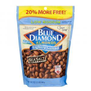 Blue Diamond Lightly Salted Almonds Bonus Bag