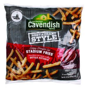 Cavendish Restaurant Style Crispy Straight Cut Stadium Fries