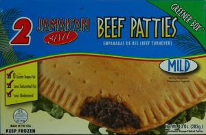 Goya Jamaican Style Mild Beef Patties