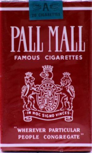 Pall Mall Red Box Non-Filter King Soft Pack Cigarettes