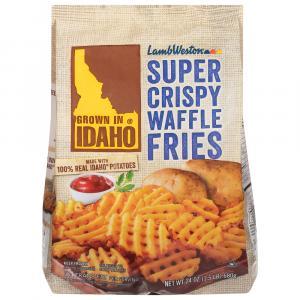 Idaho Super Crispy Waffle Fries