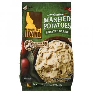 Idaho Roasted Garlic Mashed Potatoes