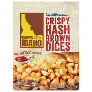 Idaho Super Crispy Hash Brown Dices