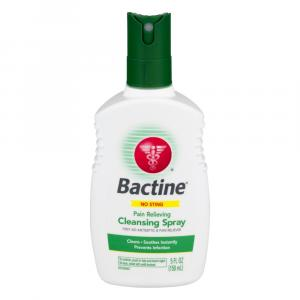 Bactine Pain Relieving Cleansing Spray