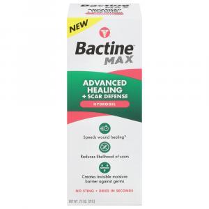 Bactine Max Advanced Healing + Scar Defense Hydrogel