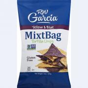 RW Garcia MixtBag Yellow & Blue Tortilla Chips