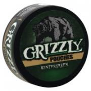 Grizzly Wintergreen Chewing Tobacco Pouch