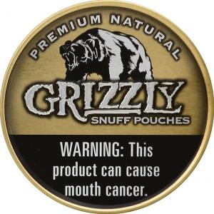 Grizzly Snuff Pouch