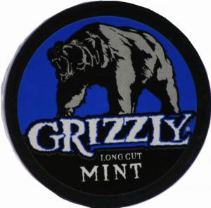 Grizzly Long Cut Mint Chewing Tobacco