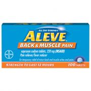 Aleve Back & Muscle Pain Tablets