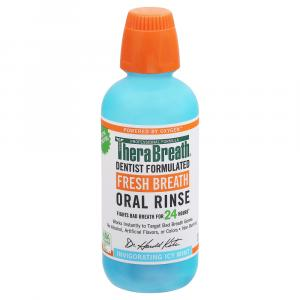 TheraBreath Fresh Breath Invigorating Icy Mint Oral Rinse