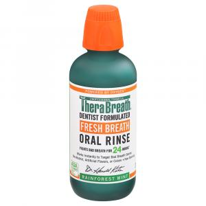 TheraBreath Fresh Breath Oral Rinse Rainforest Mint