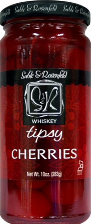 Tipsy Olives Whiskey Spiked Tipsy Cherries