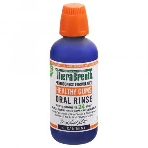 TheraBreath Healthy Gums Clean Mint Oral Rinse