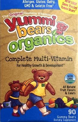 Yummy Bears Organics Complete Multi-Vitamin