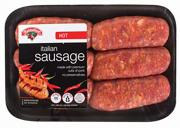 Hannaford Hot Italian Sausage
