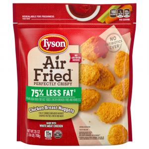 Tyson Air Fried Chicken Breast Nuggets
