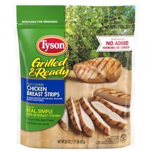 Tyson Grilled Chicken Breast Strips