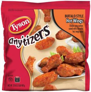 Tyson Buffalo Style Hot Chicken Wings