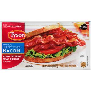 Tyson Fully Cooked Bacon