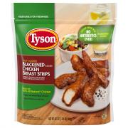 Tyson Blackened Flavored Chicken Breast Strips