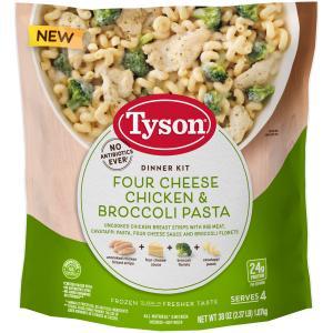 Tyson Four Cheese Chicken & Broccoli Pasta Dinner Kit
