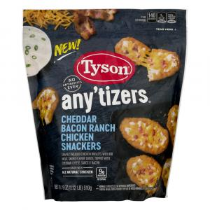 Tyson Any'tizers Cheddar Bacon Ranch Chicken Snackers