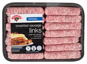 Hannaford Breakfast Sausage