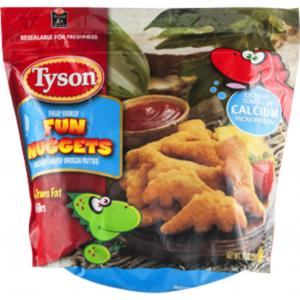 Tyson All Natural Fun Chicken Nuggets
