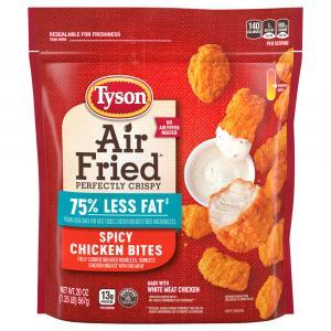 Tyson Air Fried Spicy Chicken Bites