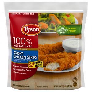 Tyson Family Pack Crispy Chicken Strips