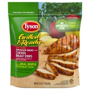 Tyson Grilled & Ready Applewood Smoked Chicken Breast Strips