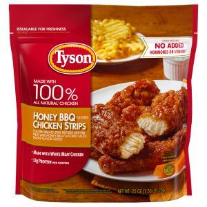 Tyson Honey Barbecue Chicken Strips