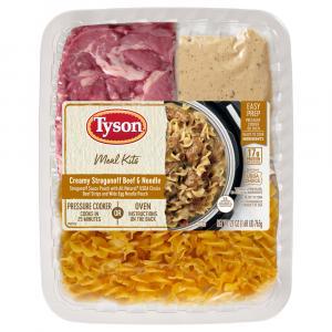 Tyson Creamy Stroganoff Beef & Noodle Instant Pot Kit