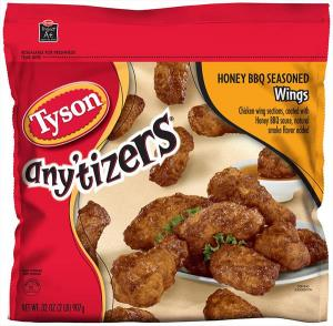 Tyson Honey Barbecue Chicken Wings