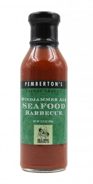 Pemberton's Savory Sauces Windjammer Ale Seafood Barbecue