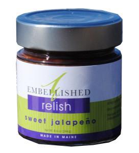 Embellished Relish Sweet Jalapeno