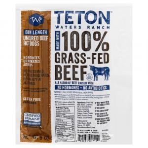 Teton Waters Ranch Bun Length Hot Dogs