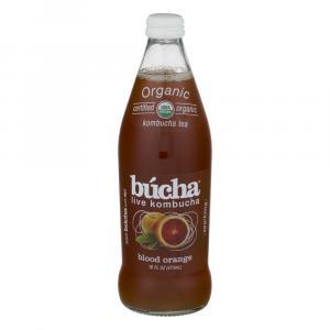 Bucha Organic Blood Orange Kombucha Tea