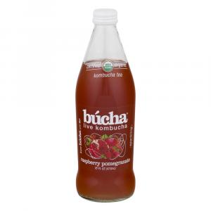 Bucha Organic Raspberry Pomegranate Kombucha Tea