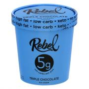 Rebel Triple Chocolate Ice Cream