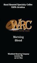 Woodshed Roasting Company Morning Blend Medium Roast Whole