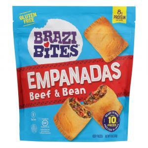 Brazi Bites Gluten Free Beef & Bean Empanadas
