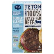 Teton Waters Ranch Sea Salt & Cracked Pepper Blend Burger