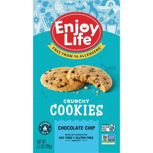 Enjoy Life Gluten Free Crunchy Chocolate Chip Cookies