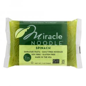 Miracle Noodle Spinach Shirataki Pasta