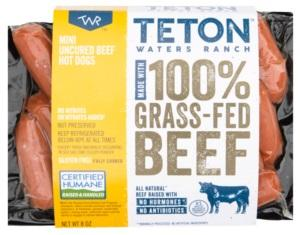 Teton Waters Ranch Grass Fed Beef Cocktail Sausages